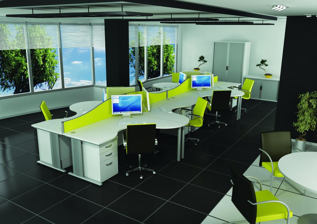 Qudos Contour S VDU Desk