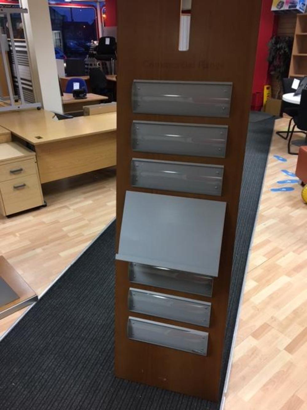 Display board wall mountable sos office supplies hull for Office display board