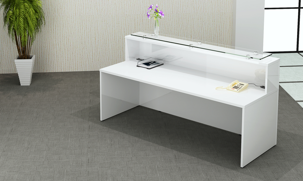 Oi Gloss White Reception Sos Office Supplies Hull