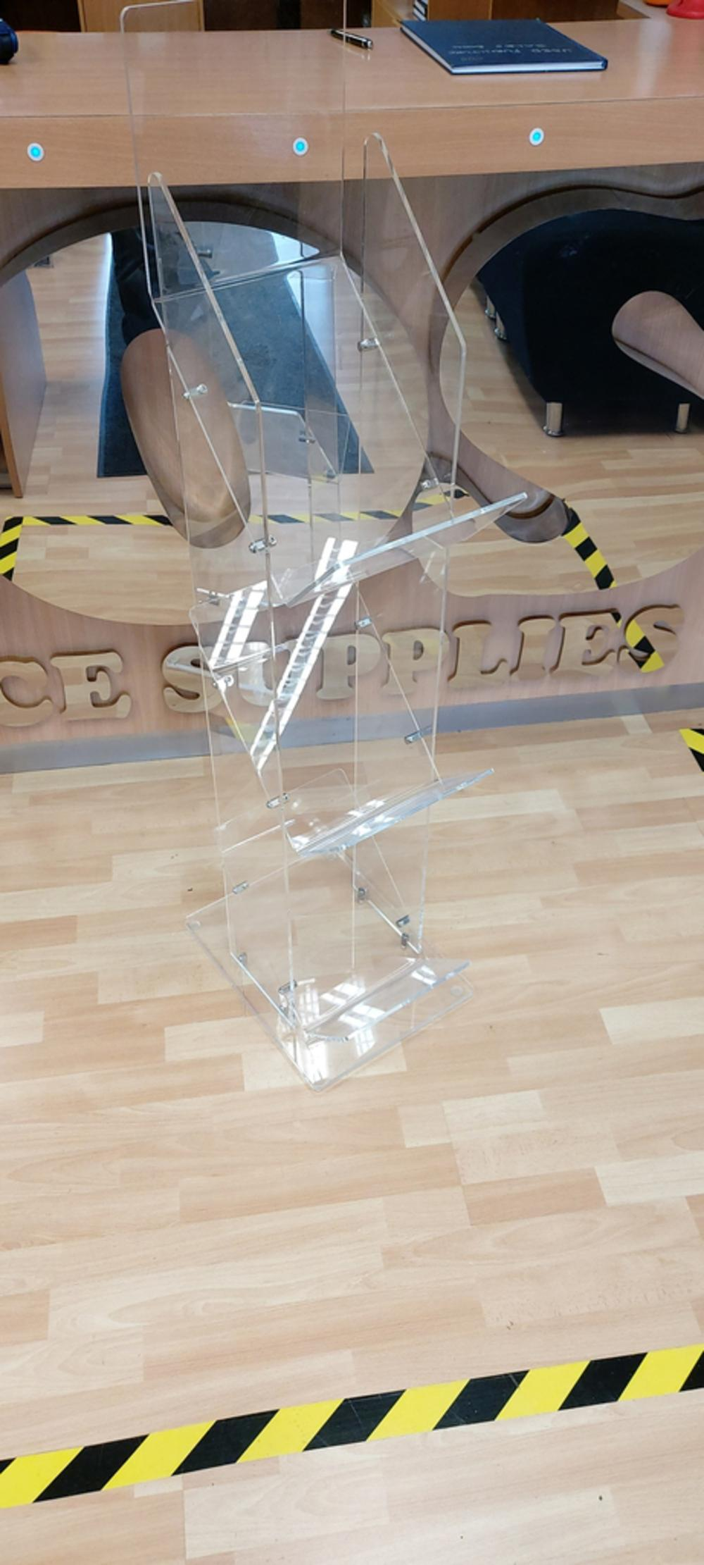 Acrylic Display Stand For Leaflets
