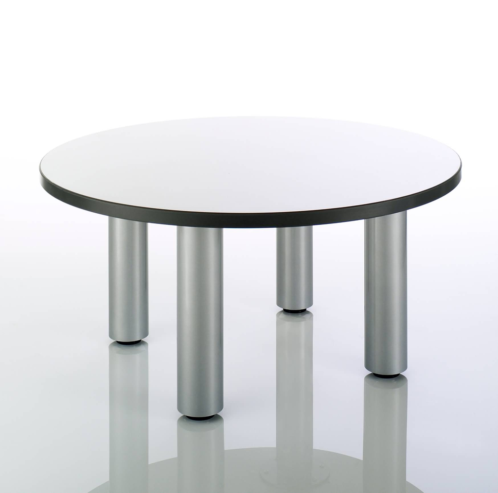 Reception coffee tables sos office supplies hull circular coffee table tubular legsg geotapseo Images