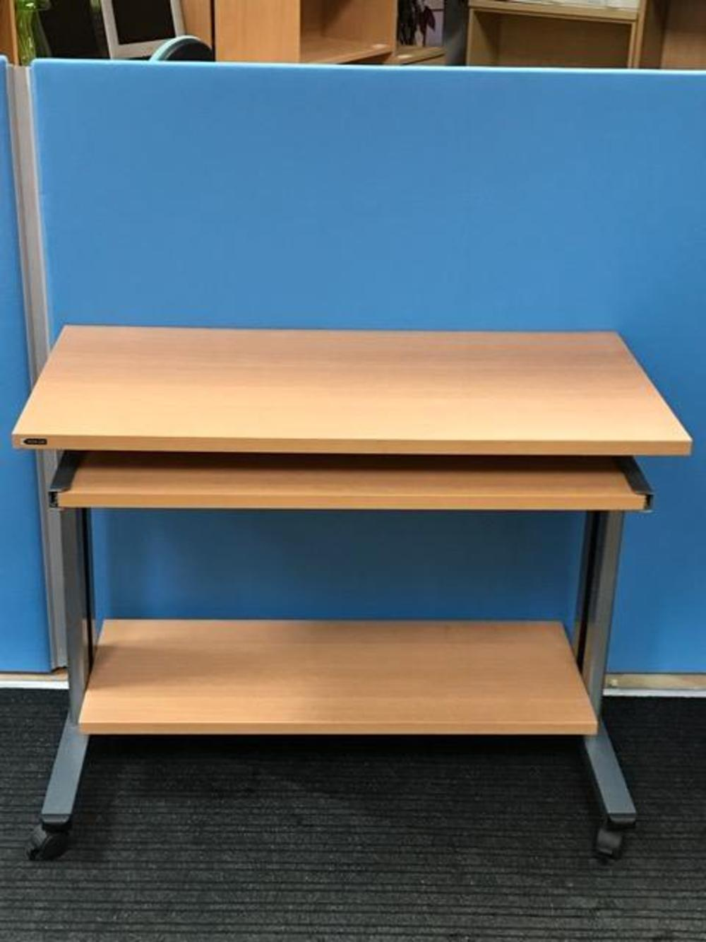 Smead Computer Desk with Pull Out Keyboard Shelf | SOS Office Supplies