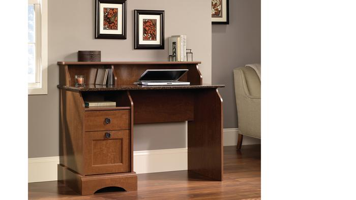 scribed oak effect home. Farmhouse Desk Scribed Oak Effect Home