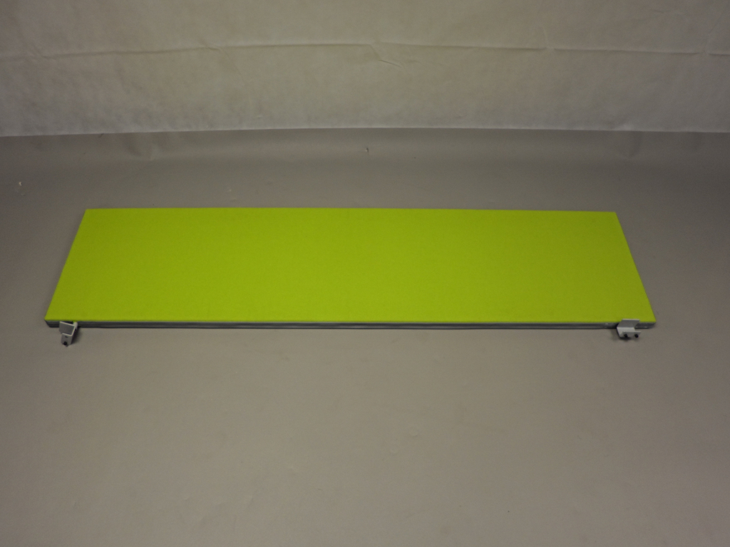 Senator Desk Mounted Screen In Lime Green Sos Office