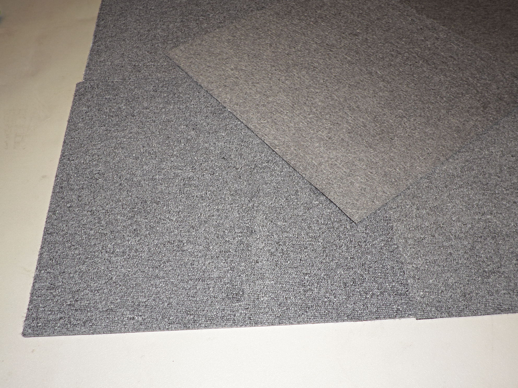Pack Of 10 Grey Office Carpet Tiles 500mm X 500mm