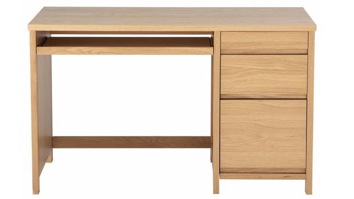 scribed oak effect home. Luxford White Oak Veener Desk Scribed Effect Home